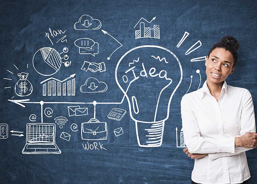 What Can You Do With a Master's in Instructional Technology? female student thinking