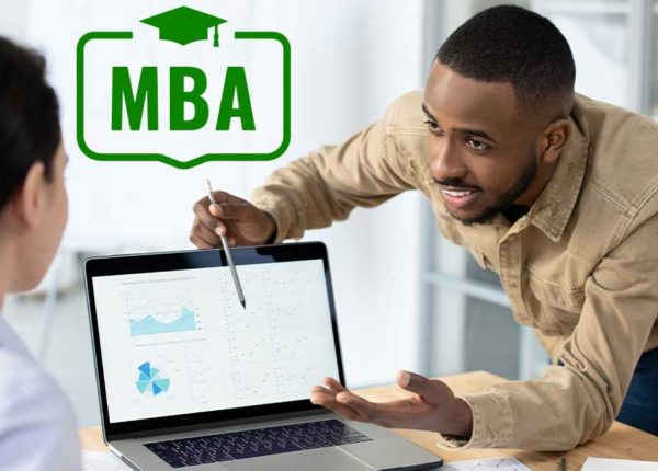 4 Things You Need to Know About MBA in Finance male student working
