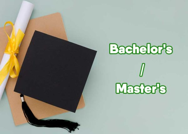 Do You Need a Bachelor's to Get a Master's in Education? degree on table